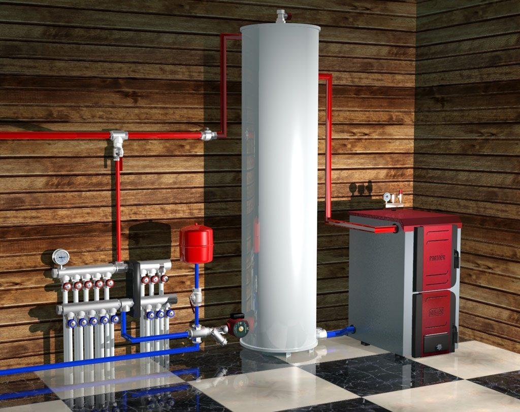 Отопление в частном доме ленинградка открытого